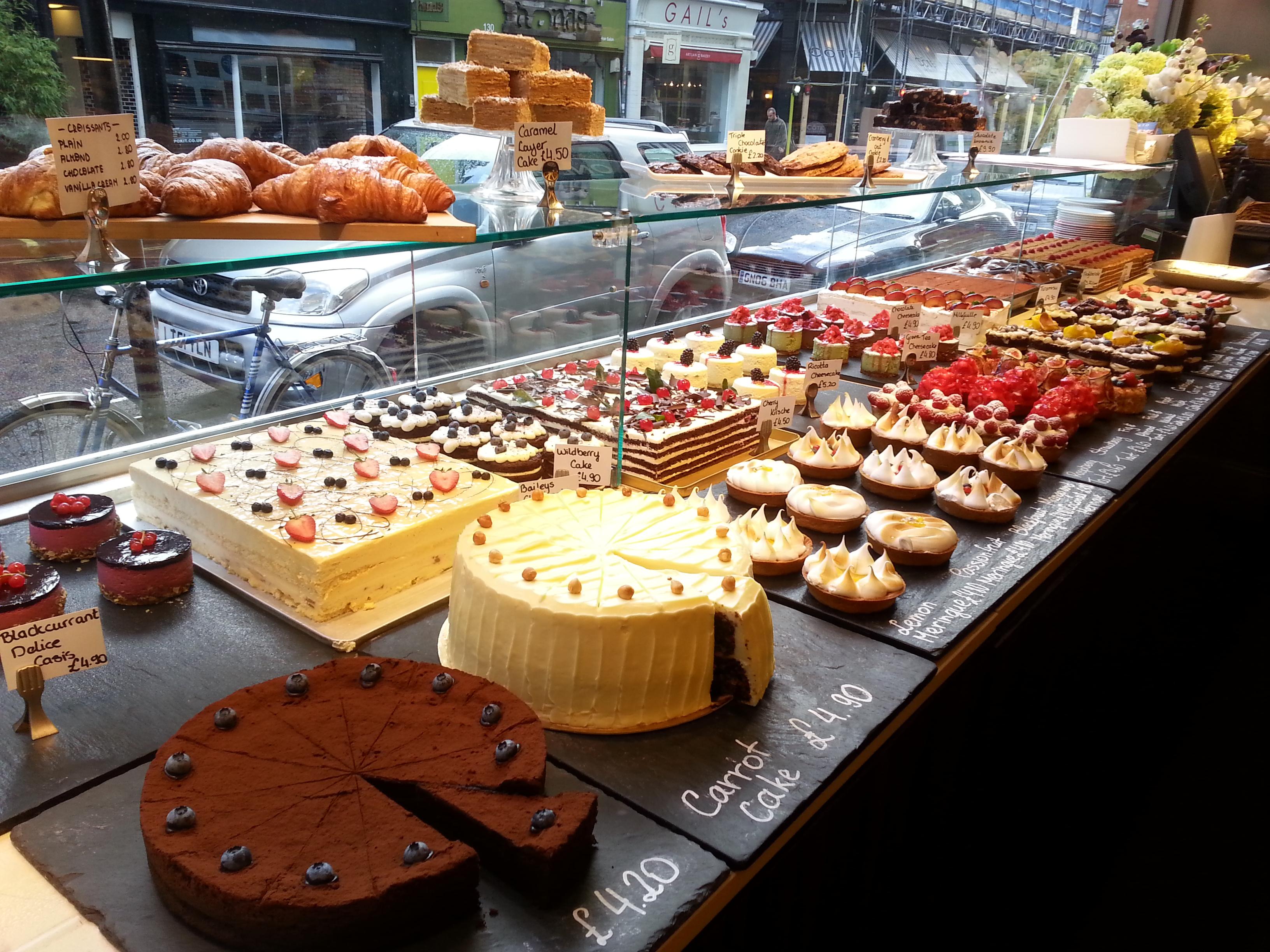 Good Cake Shop In London
