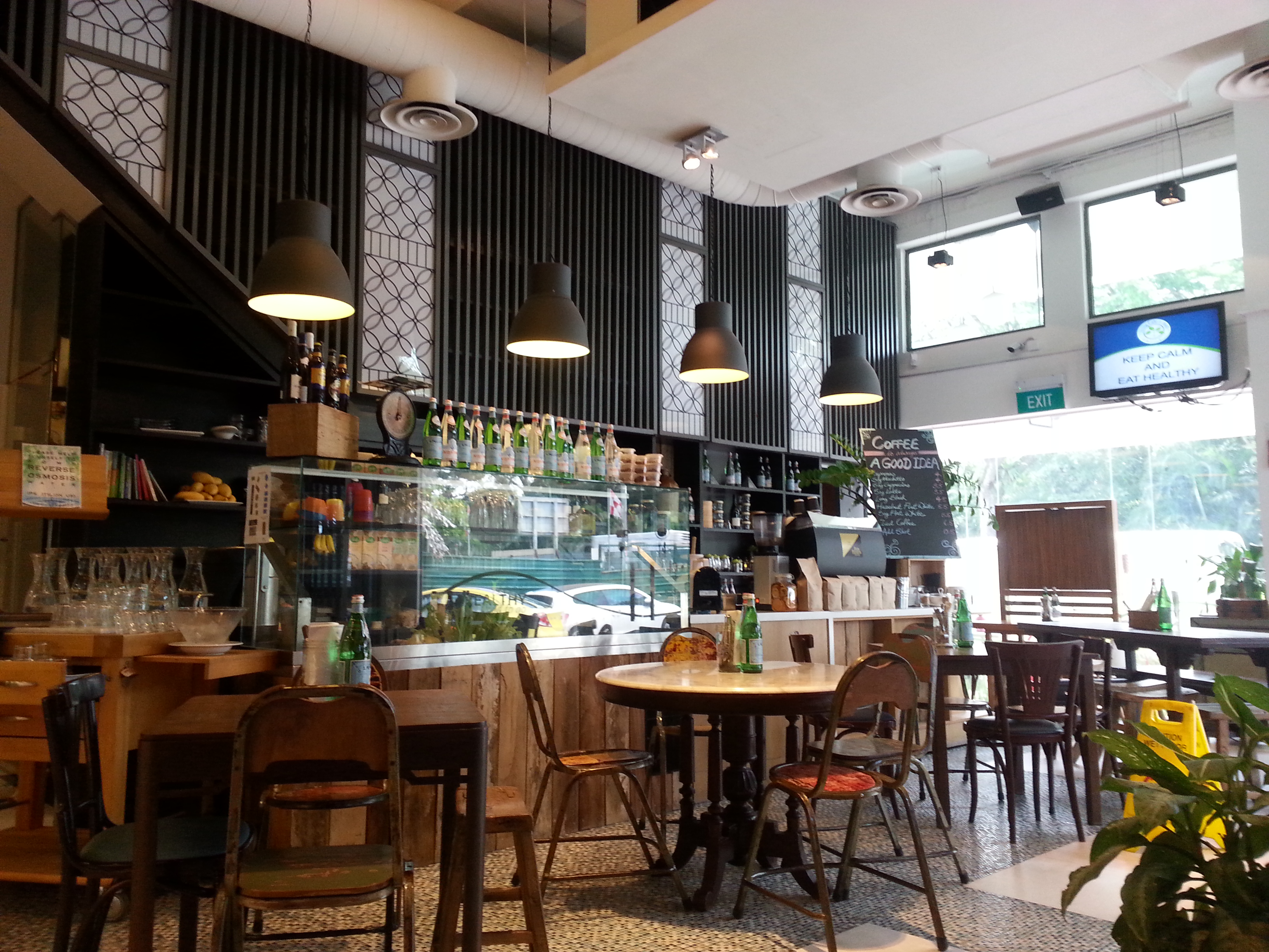 The Living Cafe, Singapore | rock a bite, baby